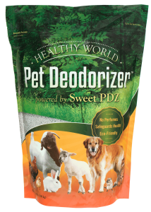 Healthy World Pet Deodorizer 3 5 lb front