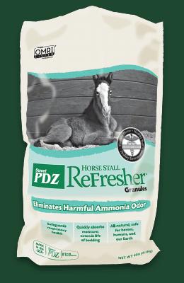 Sweet PDZ Horse Stall Refresher Granular 40 lb