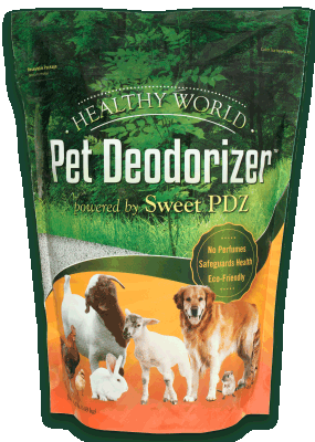 Healthy World Pet Deodorizer Granular 3.5 lb