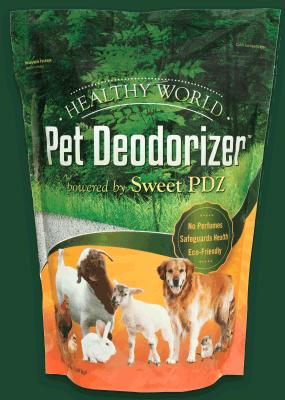 Healthy World Pet Deodorizer Granular 3.5 lb