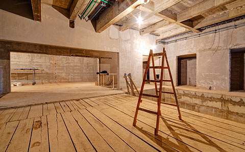 SweetPDZ is an effective solution for persistent dampness in large unused areas such as crawl spaces or attics.